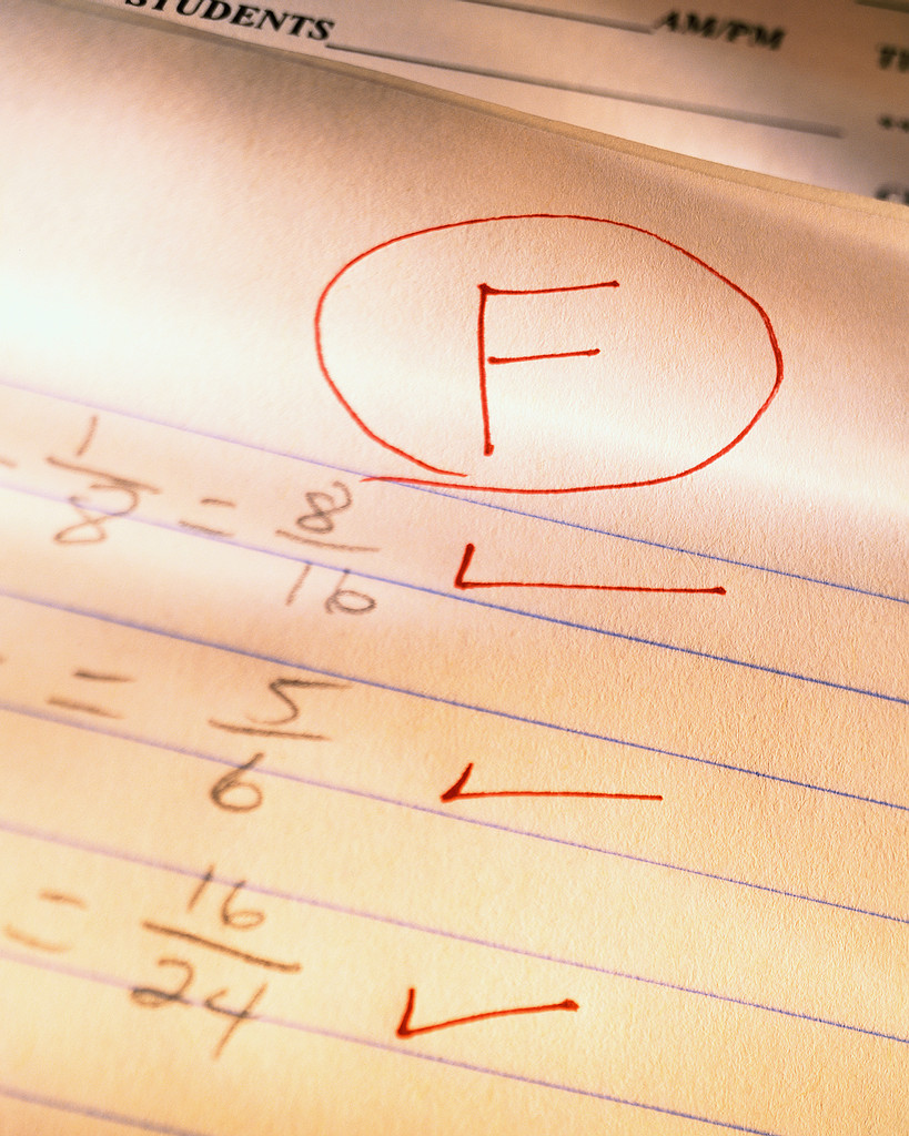 failing grades New criteria for entering failing grades (effective fall semester 2013) rationale and benefits as such, new criteria have been established for students with failing or unsatisfactory grades.