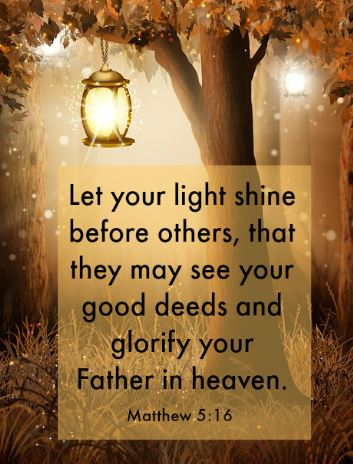Matthew 5:16, mbdahl