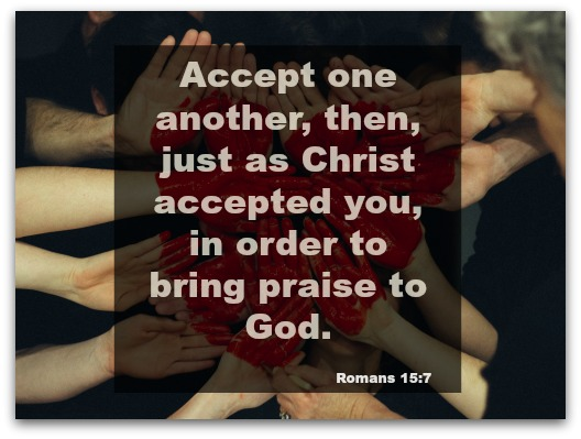 MB Dahl - Romans 15:7
